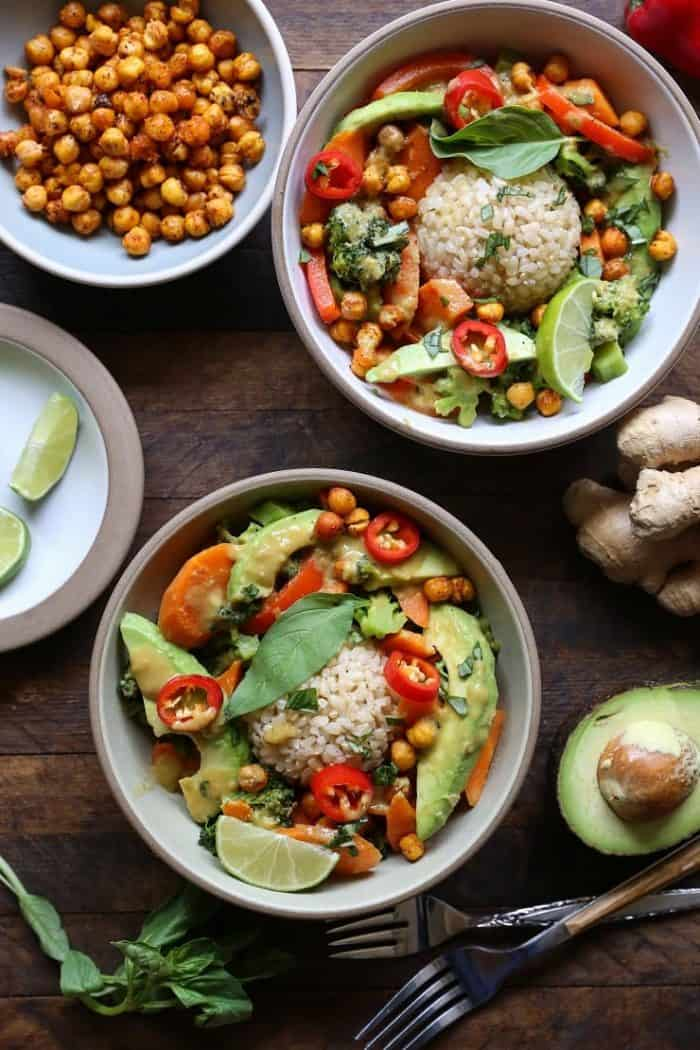 30-Minute Thai Green Curry with Avocado from The Roasted Root