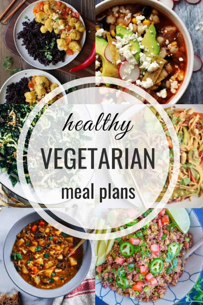 Healthy Vegetarian Meal Plan: Week of 3-16-19 - Hummusapien