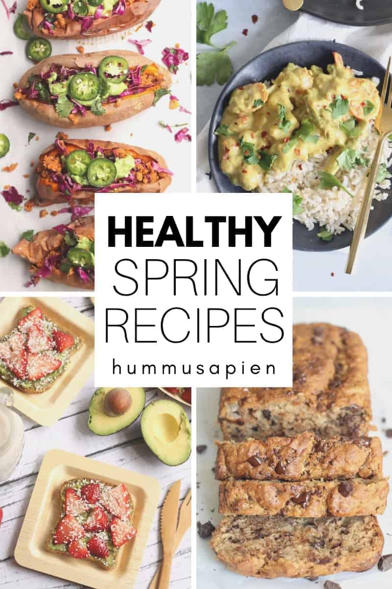 simple healthy spring recipes