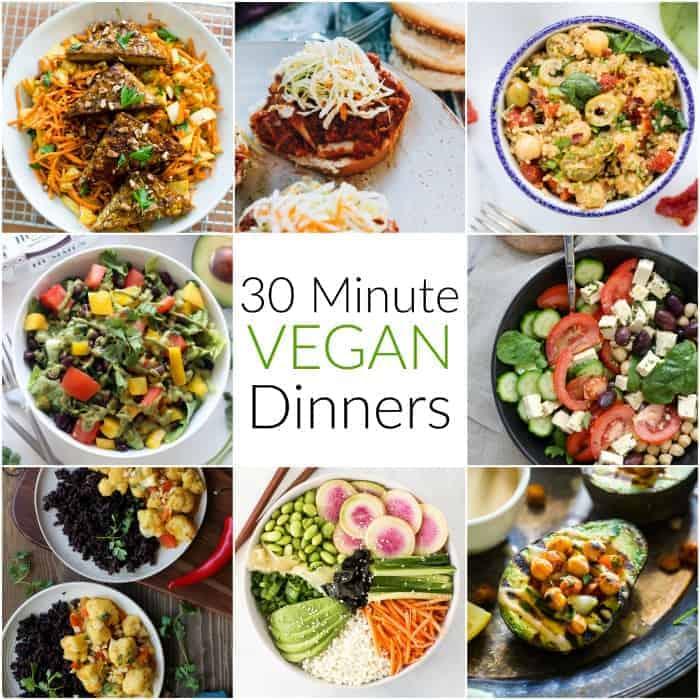 30 Minute Vegan Dinners
