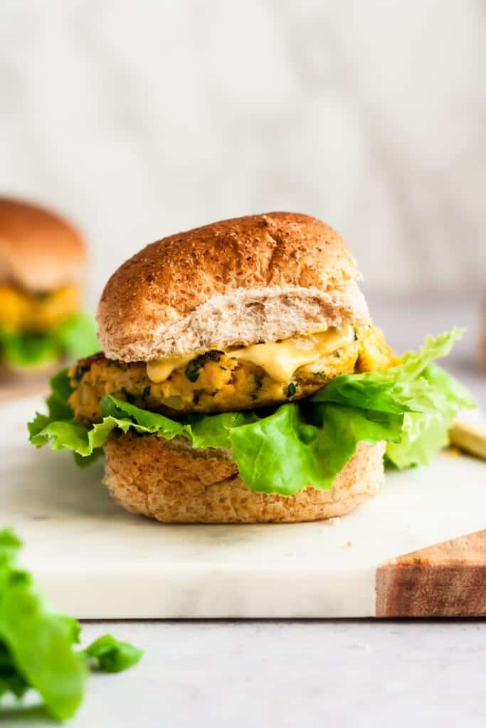 Enjoy these hearty Best Salmon Burgers for a flavorful, easy, and healthy dinner the whole family will love!