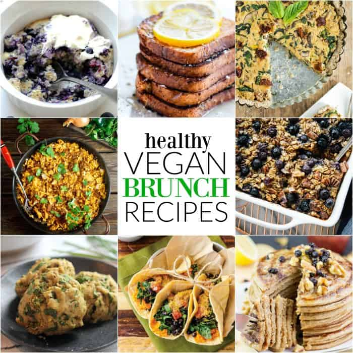 Healthy Vegan Brunch Recipes