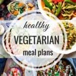 Healthy Vegetarian Meal Plan: Week of 4-6-19