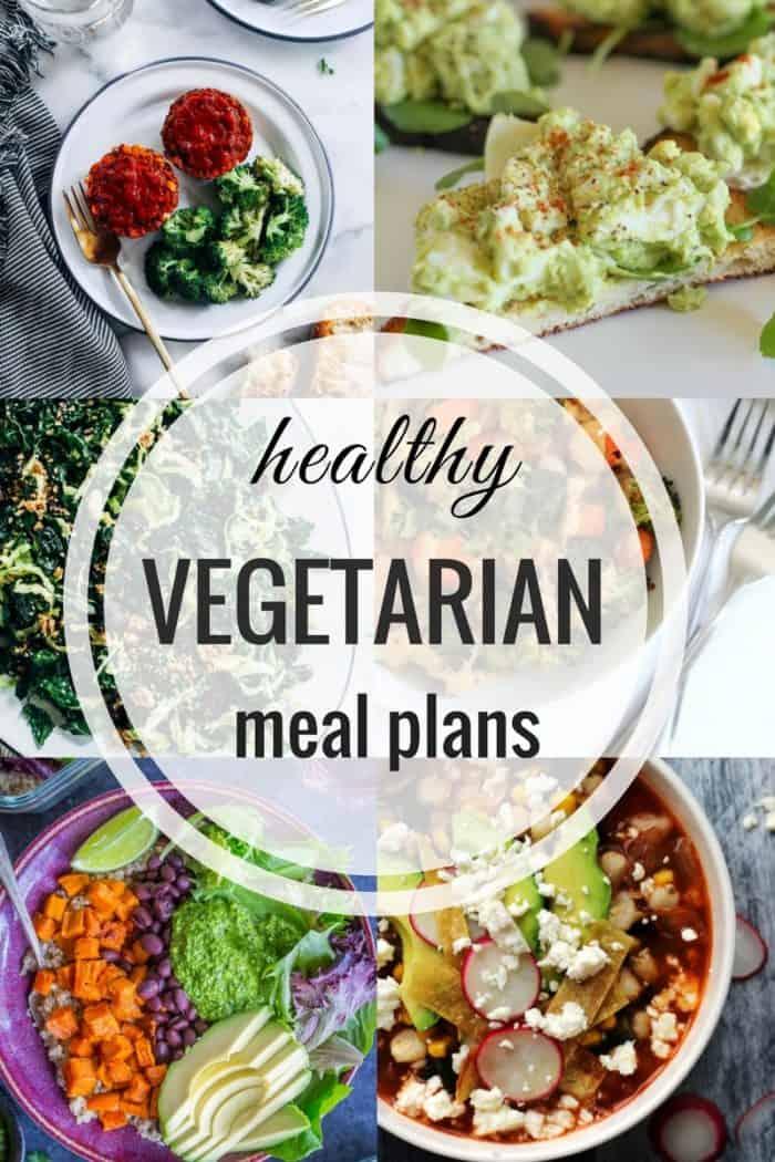 Healthy Vegetarian Meal Plan: Week of 3-10-18 - Hummusapien