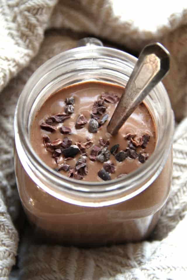 Hot Chocolate Breakfast Smoothie