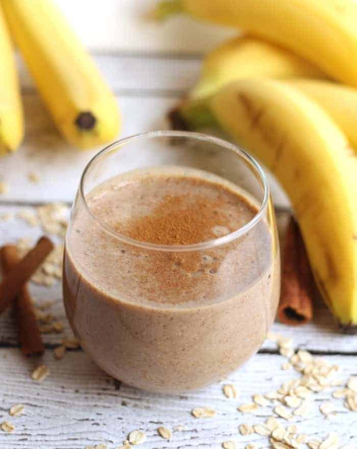 Cinnamon Raisin Oatmeal Protein Smoothie
