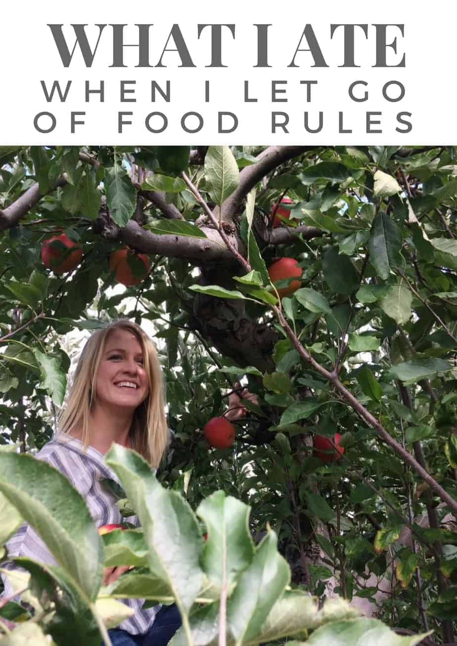 What I Ate When I Let Go of Food Rules