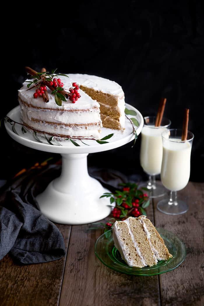 Spiced-Rum-Eggnog-Cake-7