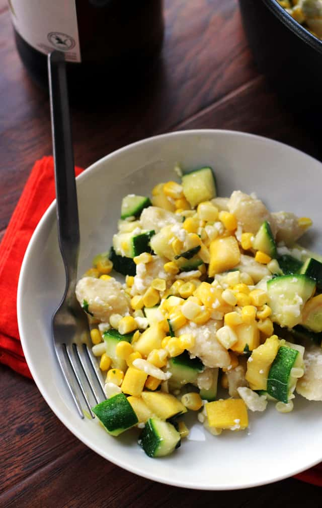 gnocchi-with-summer-squash-corn-basil-and-feta