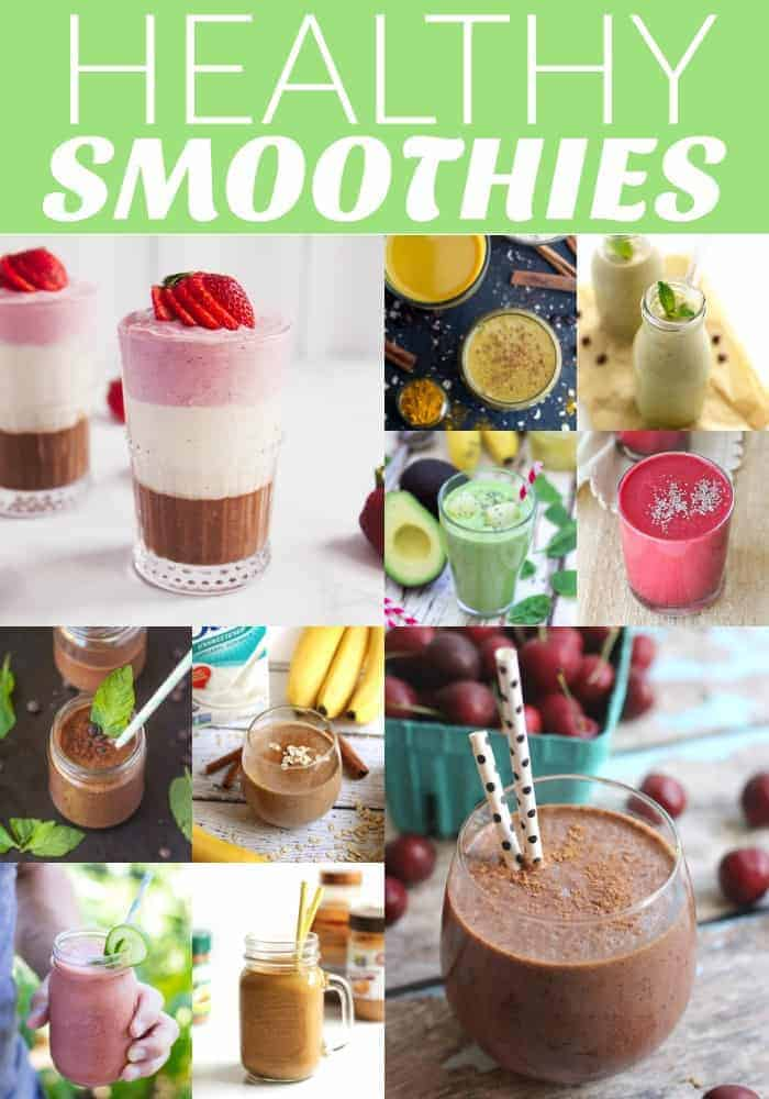 The BEST healthy smoothie recipes!