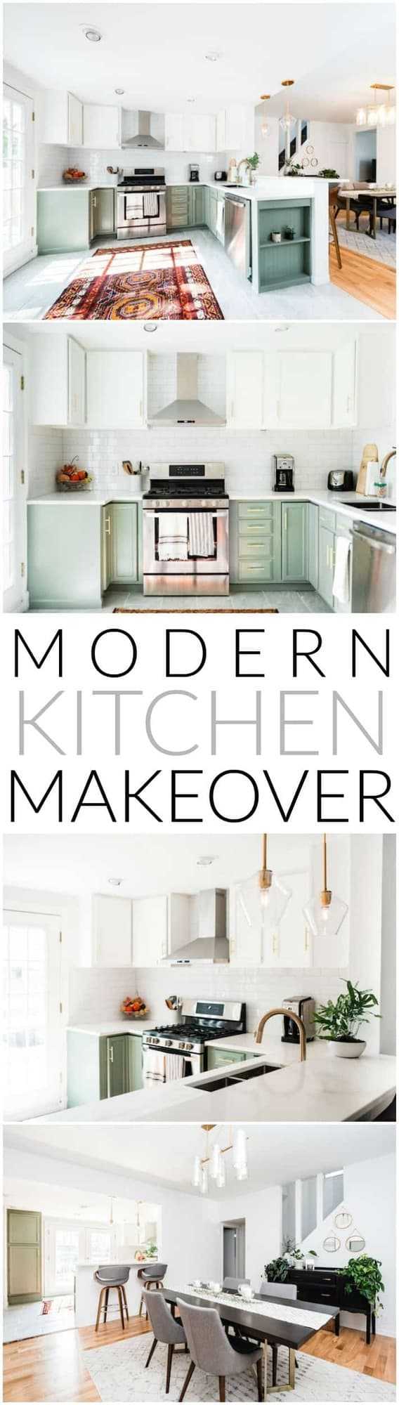 Modern Kitchen Makeover + How To