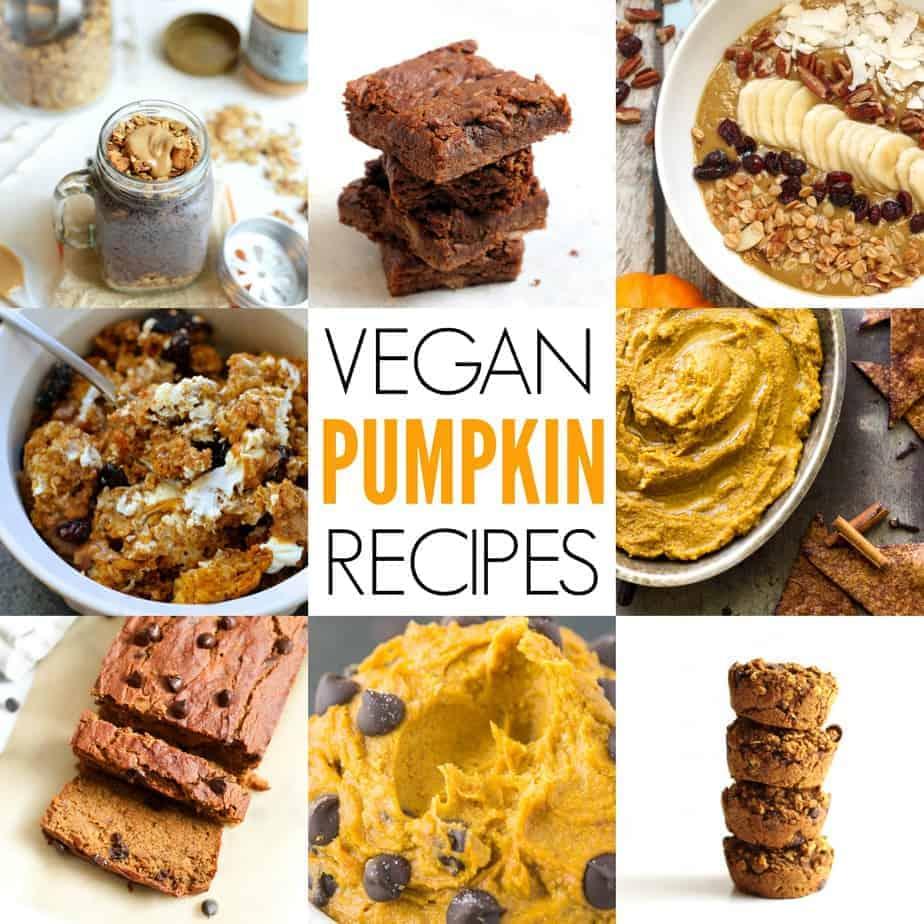 20 Vegan Pumpkin Recipes