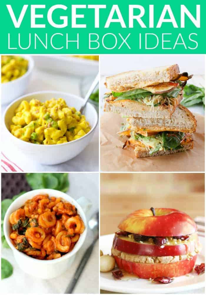 Healthy Vegetarian Lunchbox Ideas