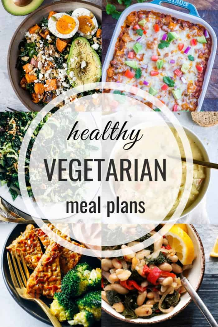Healthy Vegetarian Meal Plans that are also gluten-free and vegan!