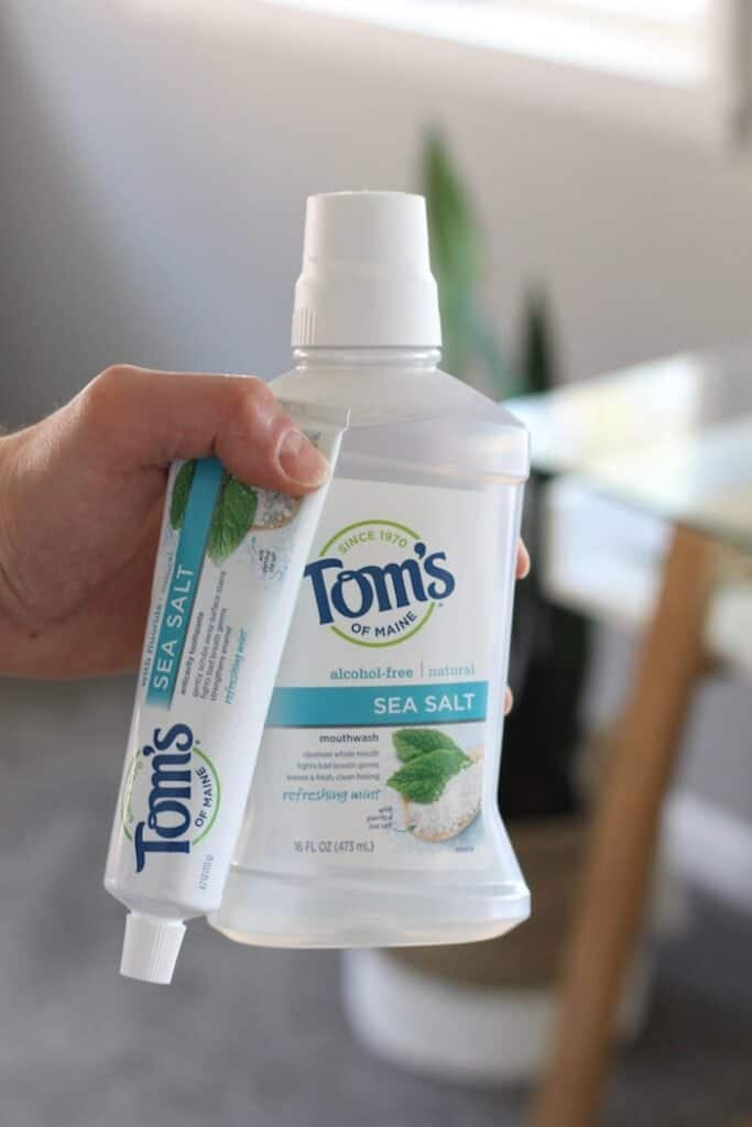 My favorite natural toothpaste: Tom