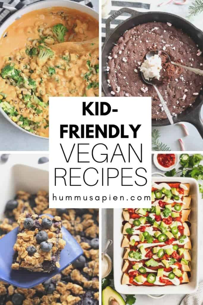 The ultimate list of tasty vegan recipes for kids!