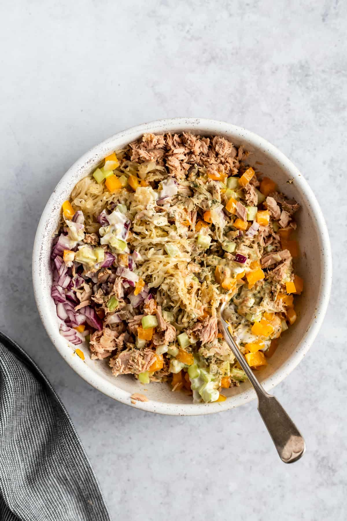 my favorite healthy tuna salad